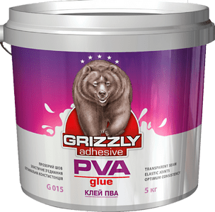 Клей  ПВА GRIZZLY 5кг